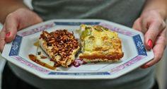 Omelete de Forno com Frango na Crosta de Alho Torrado