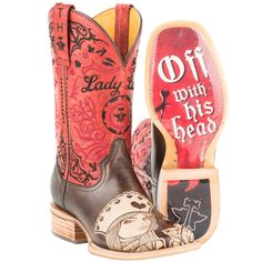 Shop Women's Tin Haul Queen Of Hearts Cowgirl Boots