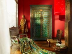 bohemian decor and furniture | Bohemian Decor Love ♥ ☮ / indian furniture