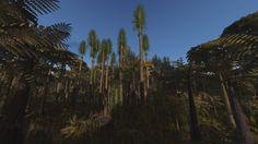 Carboniferous Forest Simulation