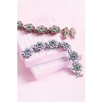 Wild Roses Bracelet | InterweaveStore.com