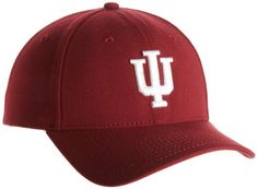 NCAA Indiana Hoosiers Team Classic 3930 Flex-Fit Cap, Cardinal by New Era. $21.99