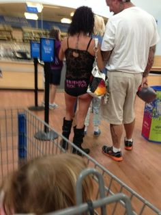When this pair of DTF panties showed up. | 23 Times When Walmart Didn't Disappoint