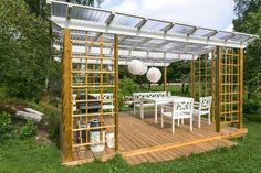 I am really liking this concept and implementation. Marvelous inspiration if you're searching smart ideas for Outdoor Kitchen Patio, Outdoor Rooms, Outdoor Living, Outdoor Gazebos, Outdoor Structures, Pergola Patio, Backyard, Composite Decking, Dream Garden