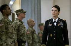 Cobie Smulders in Jack Reacher: Never Go Back Cobie Smulders, Female Marines, Female Soldier, How Met Your Mother, Maria Hill, Jack Reacher, Military Working Dogs, Military Women, Military Soldier