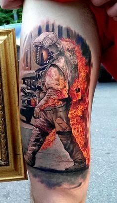 Artist: Timur Rumit. Blackout Tattoo Collective, Saint Petersburg…