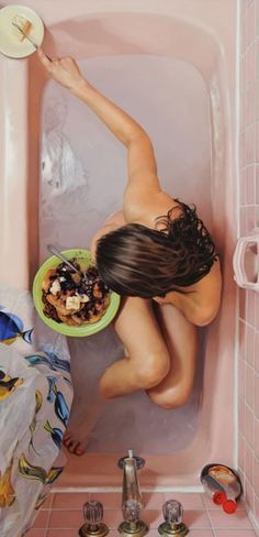 Lee Price - Hyper realistic paintings depicting the hidden world of binge eating disorder...
