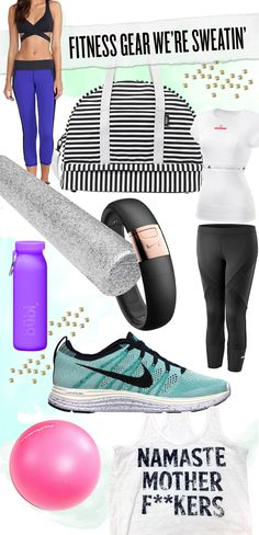 cute workout clothes & the best fitness gear & accessories for 2014