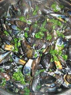 Do It All Working Mom - Mussels in creamy sauce