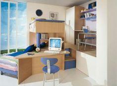 Dormitorios Loft para Niños y Jóvenes