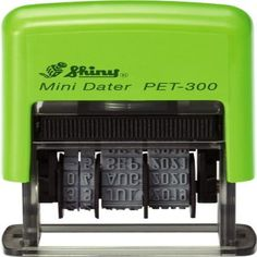 Date Stamp Self-inking Shiny PET-300  (3.8mm Character Height) #DateStampSelfinking