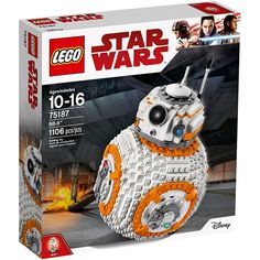 LEGO Star Wars VIII BB-8 75187 Building Kit (1106 Piece) >>> For more information, visit image link. (This is an affiliate link) #ToysGames