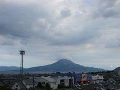 桜島 2012年8月18日16時37分