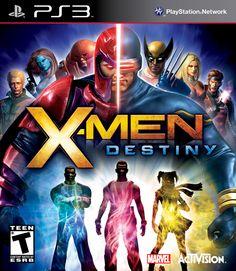 X Men Destiny PlayStation 3 Video Game Mint Condition UK Release Latest Video Games, Video Games Xbox, Xbox 360 Games, Games Ps2, Playstation Games, Arcade Games, Destiny Xbox 360, Destiny Video Game, Destiny Comic