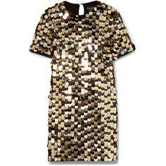 Rachel Zoe Elsa sequined cotton-jersey mini dress (36.835 RUB) ❤ liked on Polyvore featuring dresses, vestido, cocktail dresses, платья, keyhole mini dress, mini dress, glamorous dresses, cotton jersey and sequin dress