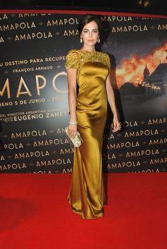 'Amapolla' Premiere, June 2014 in Marchesa Fall 2014