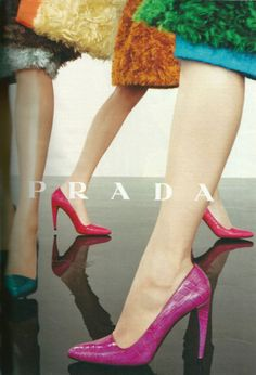 Great colour in this Prada ad.