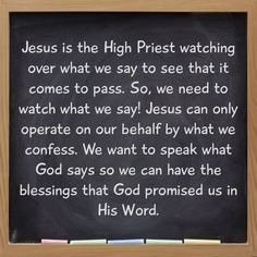 "Hebrews 3:1 (NKJV) ""Therefore, holy brethren, partakers of the heavenly calling, consider the Apostle and High Priest of our confession, Christ Jesus."""