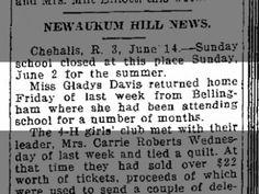 Miller, Gladys Davis: Home from College