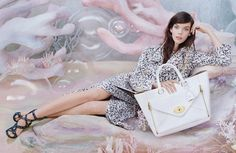 Meghan Collison for Mulberry SS 2013 Campaign by Tim Walker. I like that Tim Walker has mixed up his Mulberry campaign for . Tim Walker, Katy Perry, Rihanna, Dior, Spring Summer, Spring Style, Campaign Fashion, Vogue, Advertising Campaign