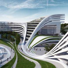 Zaha Hadid Architect City & Architecture