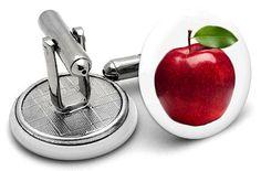 Apple Cufflinks Cufflinks, Apple, The Originals, Accessories, Apple Fruit, Wedding Cufflinks, Apples, Jewelry Accessories