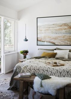 Home Remodel Outdoor This whisper-soft scheme takes its cues from the unique colours found in the Australian bush Home Decor Styles, Home Decor Accessories, Cheap Home Decor, Home Bedroom, Bedroom Decor, Bedrooms, Master Bedroom, Bedroom Ideas, Bedroom Inspo