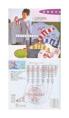 Crochet Hangers - Chart ❥ 4U // hf