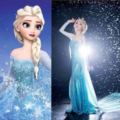 Bling-Sexy-Women-Frozen-Queen-Elsa-Cosplay-Adult-Tulle-Gown-Elsa-Dress-S-2XL