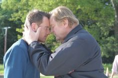 Brendan Gleeson and Michael Fassbender in TRESPASS AGAINST US | © 2017 A24