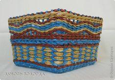 Поделка изделие Плетение Восточные мотивы Салфетки Трубочки бумажные фото 1