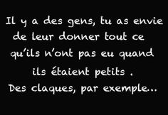 ❤ Bad Quotes, Some Quotes, French Words, French Quotes, Quotes Francais, Funny French, Quote Citation, Lol, Pretty Words