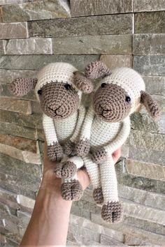 Lexie Lamb Amigurumi Sheep Pattern