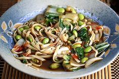 Pho Chay – Vegetarian Vietnamese Noodle Soup (from Healthy Green Kitchen)