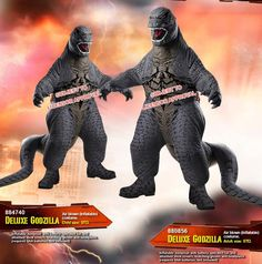 Godzilla 2014 inflatable costume