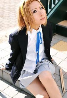 Ritsu Tainaka_K-On! Larp, Dramas, Dress Up, Fandoms, Cosplay, Asian, Blazer, Costume, Blazers