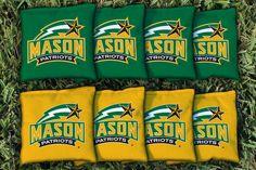 Cornhole Bag Logo Set - George Mason University Patriots 17954