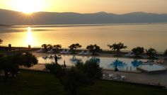 4* Europa Beach Hotel - Γαλαξείδι At The Hotel, Beach Hotels, 4 Star Hotels, Outdoor Pool, Hotel Offers, Terrace, Greece, Golf Courses, Family Room