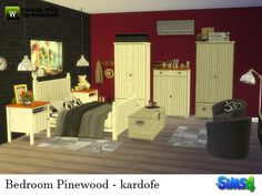 Sims 4 CC's - The Best: Bedroom by Kardofe
