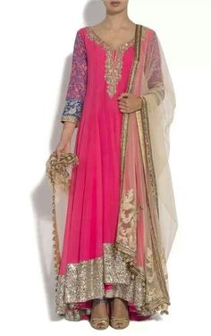 Pink pakistani dress
