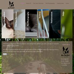 Website for Juz Purrfect: www.juzpurrfect.sg - For pet care services, pet photography, pet-sitting, and more!