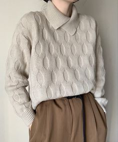 Vintage Sweaters, Jumpers, Fashion Inspiration, Turtle Neck, Textiles, Pullover, Knitting, Closet, Knits