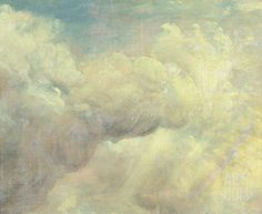 Cloud Study, c.1821 Stretched Canvas Print by John Constable at Art.co.uk