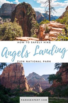 A guide to safely conquering the Angels Landing hike in Zion National Park: A step-by-step guide to the switchbacks and narrow ledges that bring you to the top.
