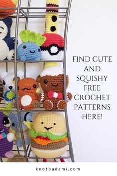Need inspiration for your own crochet amigurumi projects? Head over to the blog ...   #amigurumi #blog #crochet #inspiration #projects