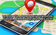 TELEFON TULAJDONOSOK! VIGYÁZZATOK! TUDJÁK, MERRE JÁRSZ! NÉZD MEG TE IS! | Világom.hu Park Avenue, Merida, Map, Location Map, Maps