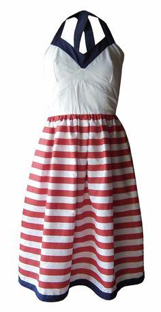 Sailer swing dress by ES DESIGNING