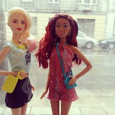 New best friends. Kassandra & Elizabeth #barbie #barbiefashionista #barbie2016 #barbiepoland #barbiedoll #doll #barbiepolska #mattel #barbiecollector by barbiepoland