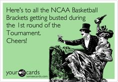 The joys of the NCAA Tournament! lol