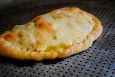 TJ pizza dough calzone